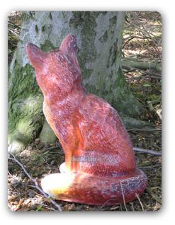 Fuchs Dekofigur Gartenfigur Figur Statue Wald Deko - Vorschau 3