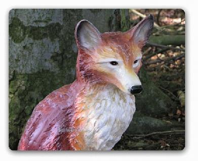 Fuchs Dekofigur Gartenfigur Figur Statue Wald Deko - Vorschau 1