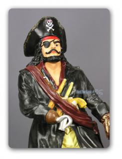 Seeräuber oder Pirat als Dekorationsfigur Figur - Vorschau 2