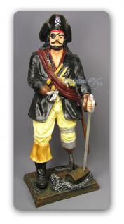 Seeräuber oder Pirat als Dekorationsfigur Figur - Vorschau 1