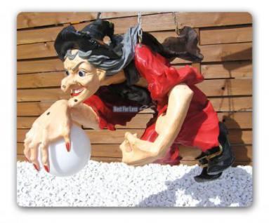 Hexen Lampe Figur Dekoration Deko Halloween - Vorschau 3