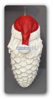 Weihnachts Zapfen als Weihnachtsmann Figur Deko - Vorschau 2