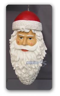 weihnachts zapfen als weihnachtsmann figur deko kaufen. Black Bedroom Furniture Sets. Home Design Ideas
