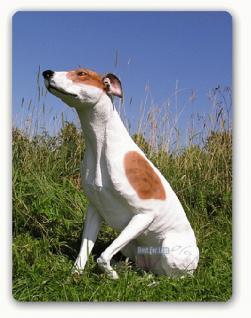 Greyhound Windhund als Dekofigur Statue Figur