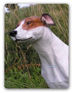 Greyhound Windhund als Dekofigur Statue Figur - Vorschau 3