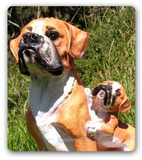 Boxer Dekofigur Figur Hunde Dekortion Tierfigur - Vorschau 2