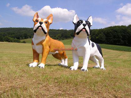 XXL Hund Französische Bulldogge als riesen Werbefigur - Vorschau 1