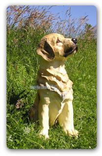 Golden Retriever Dekofigur Figur Statue Hundefigur - Vorschau 2