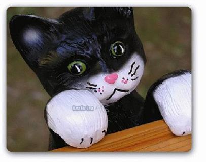 Katze Dekofigur Hängend Gartenfigur Figur Deko - Vorschau 3