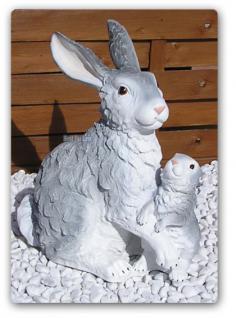 Hase Häschen Osterhase Oster Dekoration Figur - Vorschau 1