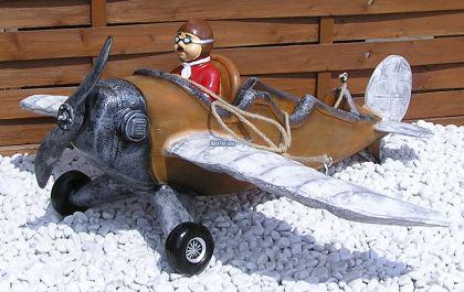 flugzeug luftfahrt figur modellflugzeug deko kaufen bei. Black Bedroom Furniture Sets. Home Design Ideas