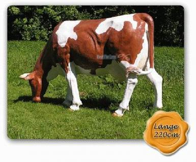 Lebensgroße Kuh als Dekofigur & Werbefigur