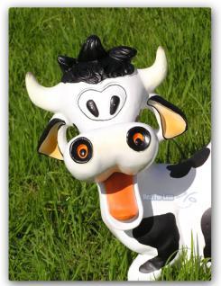 Lustige Kuh Figur Statue Aufstellfigur Tierfigur - Vorschau 3