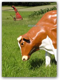 Kuh Dekofigur oder Bauernhof Dekoration Figur - Vorschau 4