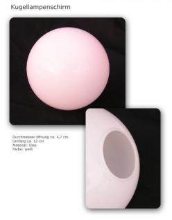 Kugel Fackel Lampenschirm aus Glas Runder - Vorschau 1