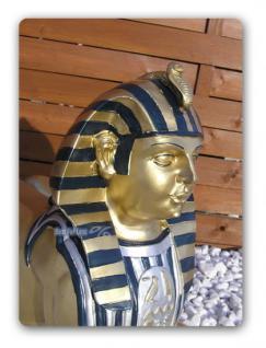 Sphinx Ägyptische Figur Statue in Gold Optik Deko - Vorschau 2