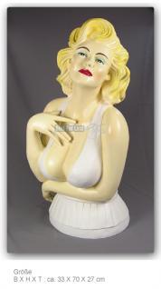 Marilyn Monroe Büste Figur Statue Deko Fan - Vorschau 4