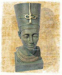 Nofretete Figur Skulptur Ägypten Statue Dekoration - Vorschau 2