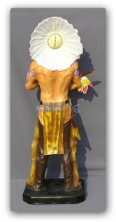Indianer Figur Dekofigur Country Dekoration Deko - Vorschau 3