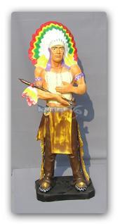 Indianer Figur Dekofigur Country Dekoration Deko - Vorschau 2