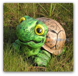 Schildkröte Gartenfigur Teich Dekoration Garten - Vorschau 2