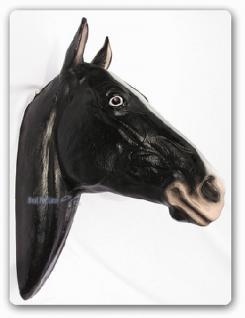 Pferd Pferdekopf Dekofigur Figur Wanddekoration