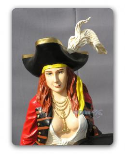 Pirat Dekofigur Statue Maritime Dekoration Pin Up - Vorschau 1