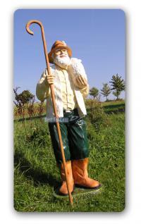 Schäfer Dekofigur Gartenfigur Lebensgroß Figur - Vorschau 2