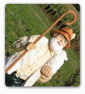 Schäfer Dekofigur Gartenfigur Lebensgroß Figur - Vorschau 1