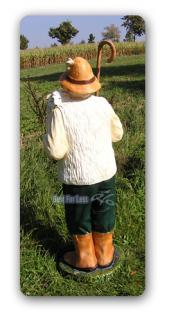 Schäfer Dekofigur Gartenfigur Lebensgroß Figur - Vorschau 4