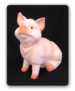 Schwein Sau Eber Dekofigur Figur Tierfigur Statue