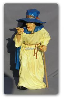 Hexe Halloween Dekoration Figur Statue Düstere - Vorschau 1