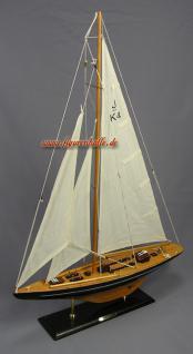 Segelschiff Yachtmodell Endeavour Modell aus Holz Standmodell