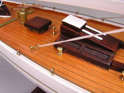 segelschiff ranger holz modell standmodell maritim deko