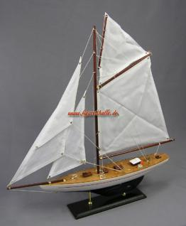 Segelschiff Defender Deko Schiff Holz Modellschiff Modellboot