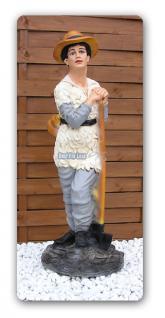 Hirtenjunge Alm Junge Gartenfigur Dekofigur Statue - Vorschau 1