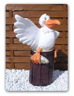 Möwe Pelikan Dekofigur Figur Dekoration Deko