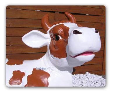 Braune Kuh Als Aufstellfigur Dekoration Bauernhof Kaufen