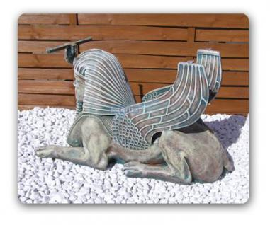 Ägyptische Sphinx Couschtisch Figur Statue Möbel - Vorschau 2