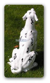 Dalmatiner Figur Gartenfigur Statue Aufstellfigur - Vorschau 3