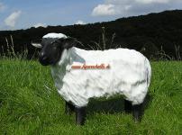 Schaf mit schwarzem Kopf Figur Statue