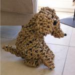Knoten Hund Figur