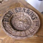 Seasos Rattan Set rund klassisch Designklassiker Shabby Chic