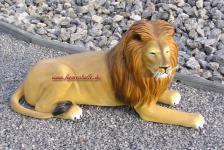 Liegender Löwe Figur Statue Skulptur
