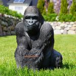 Gorilla Dekofigur Aufstellfigur Affe