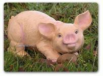 Schwein / Ferkel als Dekofigur