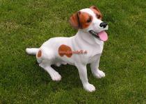 Jack Russell Hunde Figur Aufstellfigur Dekofigur