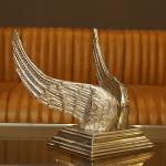 Flügel Aluminium Dekoration Alu