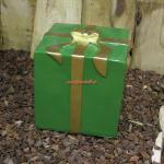 Weihnachtspaket oder Weihnacht Dekoration außendeko