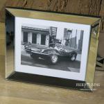Jaguar XKSS Steve McQueen Wandbild Kunstdruck Film Eingerahmt